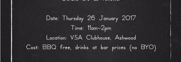 VSA BBQ Australia Day